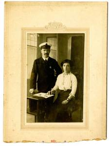 Francis Thomas O'Brien and his wife Mary Hughes