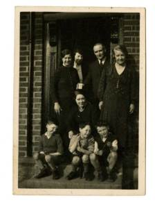 The O'Brien family and friends